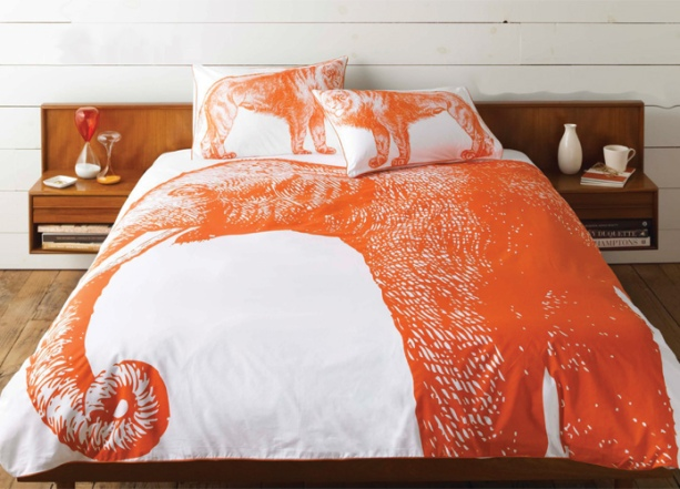 Thomas Paul Elephant Duvet Cover at Velocity Art And Design - Your home for modern furniture and accessories in Seattle and the US.