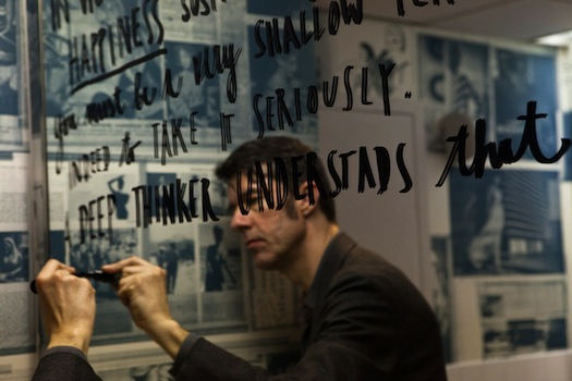 Stefan Sagmeister's Latest Exhibition