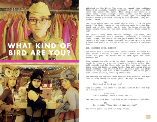 Moonrise kingdom | Interactive script 4