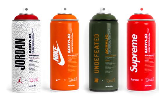 Montana Spray Paint Brand by Antonio Brasko | apricot-juice com