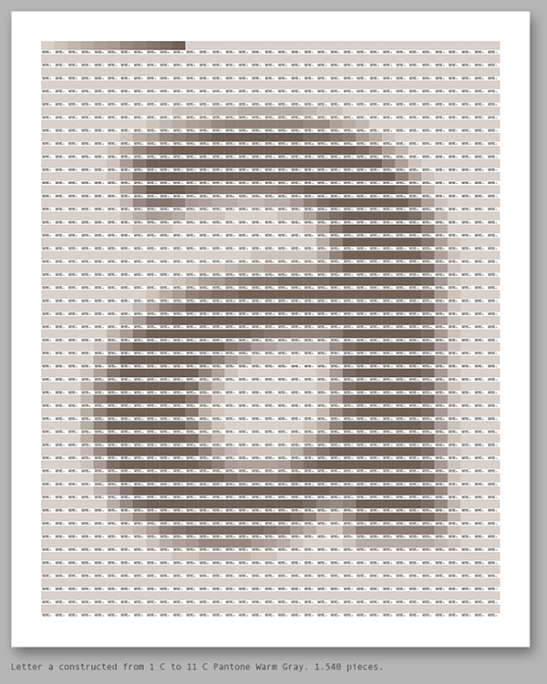 pantone as a pixel